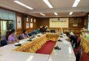 การประชุมโครงการปรับพื้นฐานและพัฒนาวินัยนักศึกษาใหม่ สาขาวิชาการเดินเรือ ประจำปีการศึกษา 2564